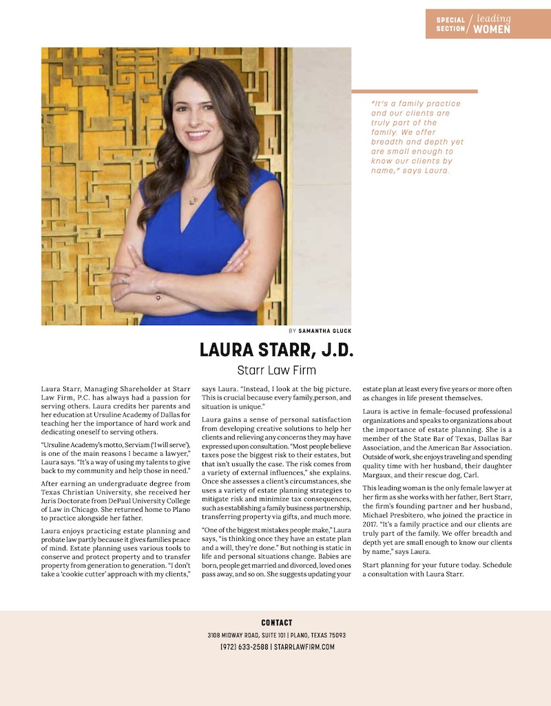 laura starr featured in leading woman