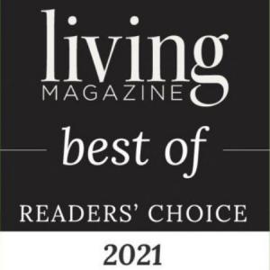 living magazine best of readers choice award 2021
